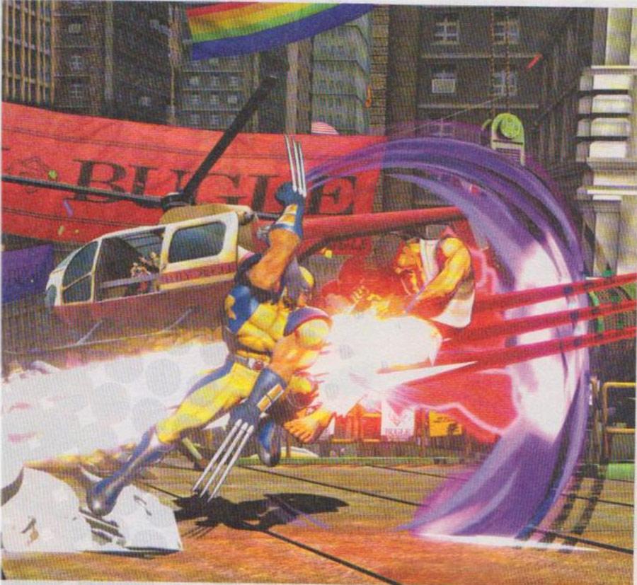 Marvel vs. Capcom 3 screen shot #5