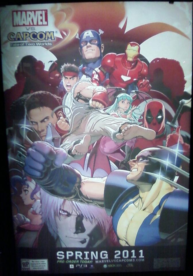 Marvel vs. Capcom 3 E3 poster