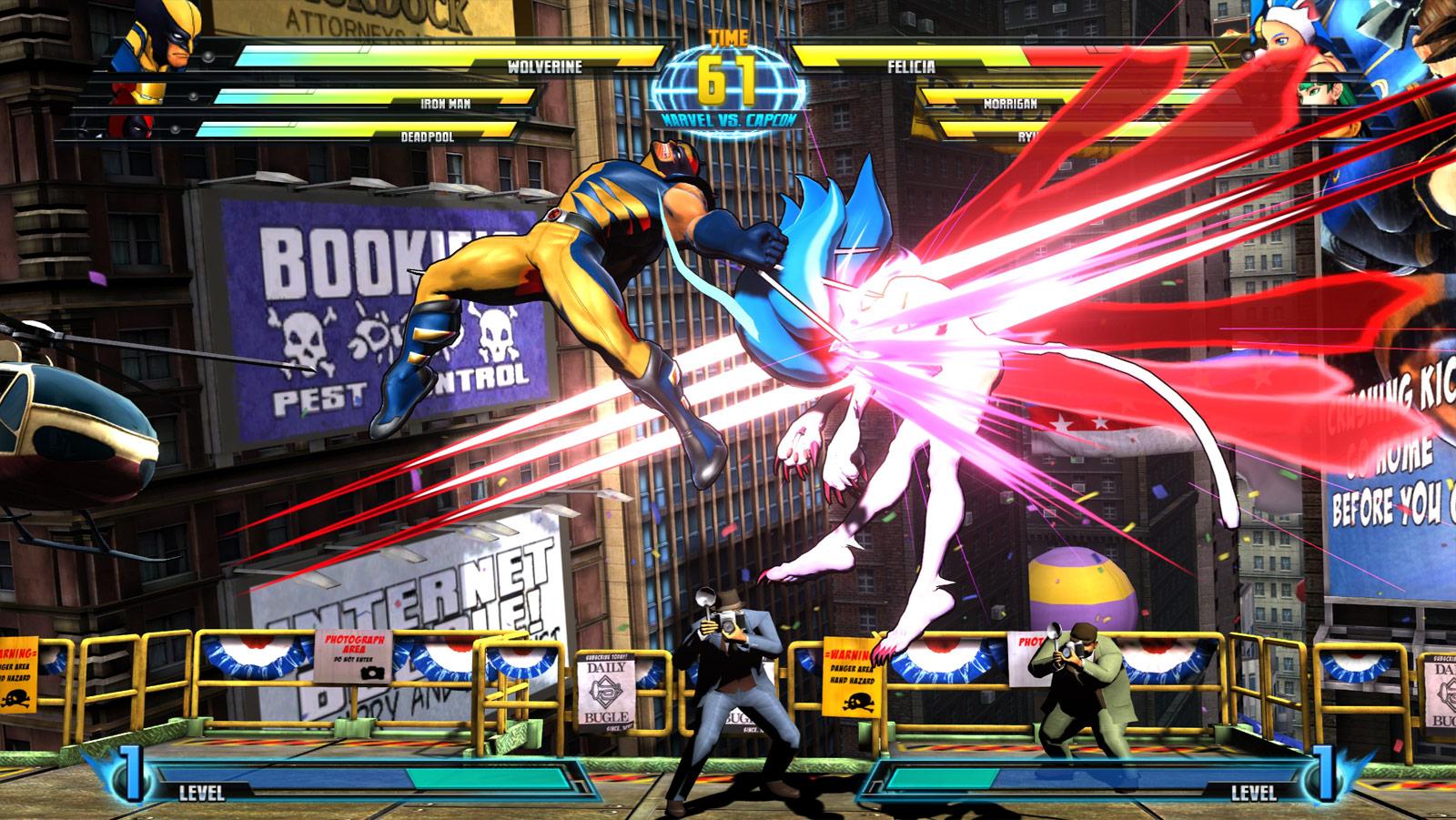 Marvel vs. Capcom 3 screen shot from E3 image #1