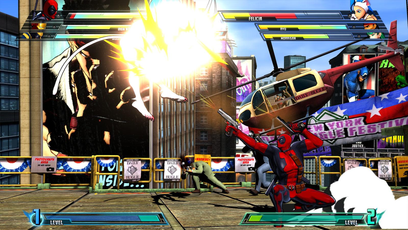 Marvel vs. Capcom 3 screen shot from E3 image #3