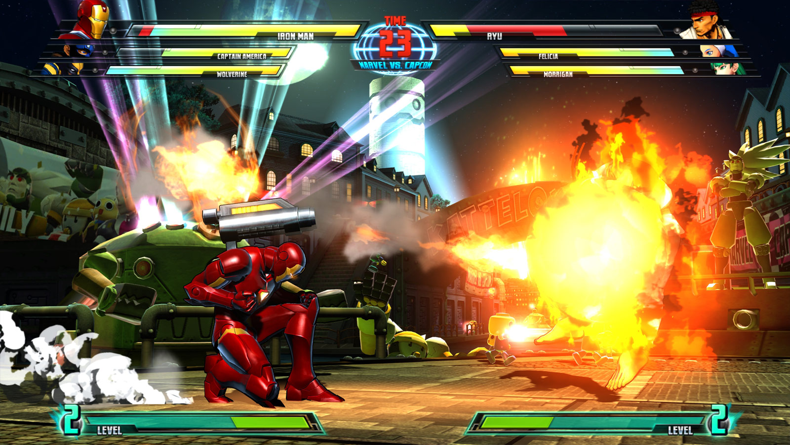 Marvel vs. Capcom 3 screen shot from E3 image #5