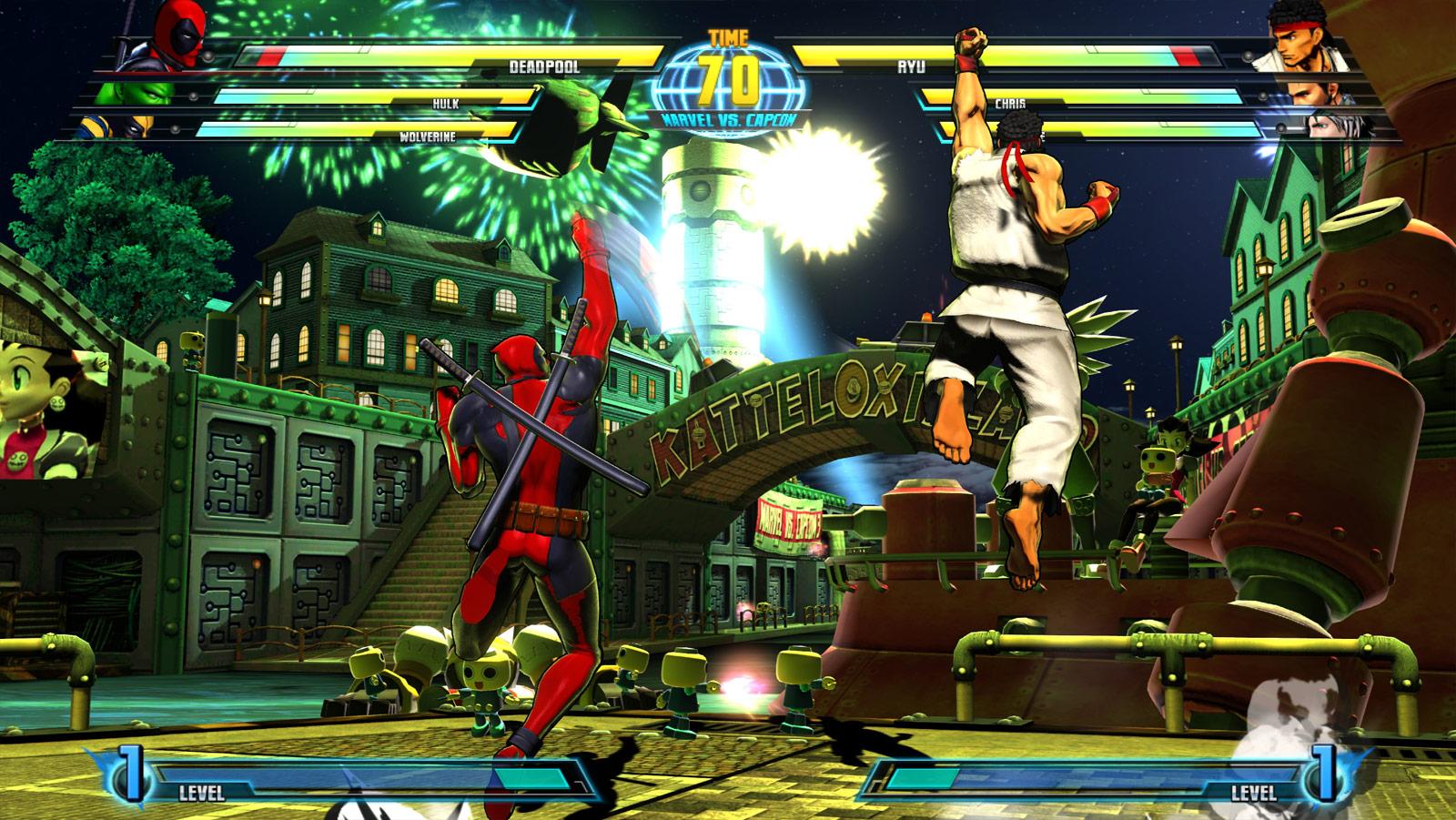 Marvel vs. Capcom 3 screen shot from E3 image #7