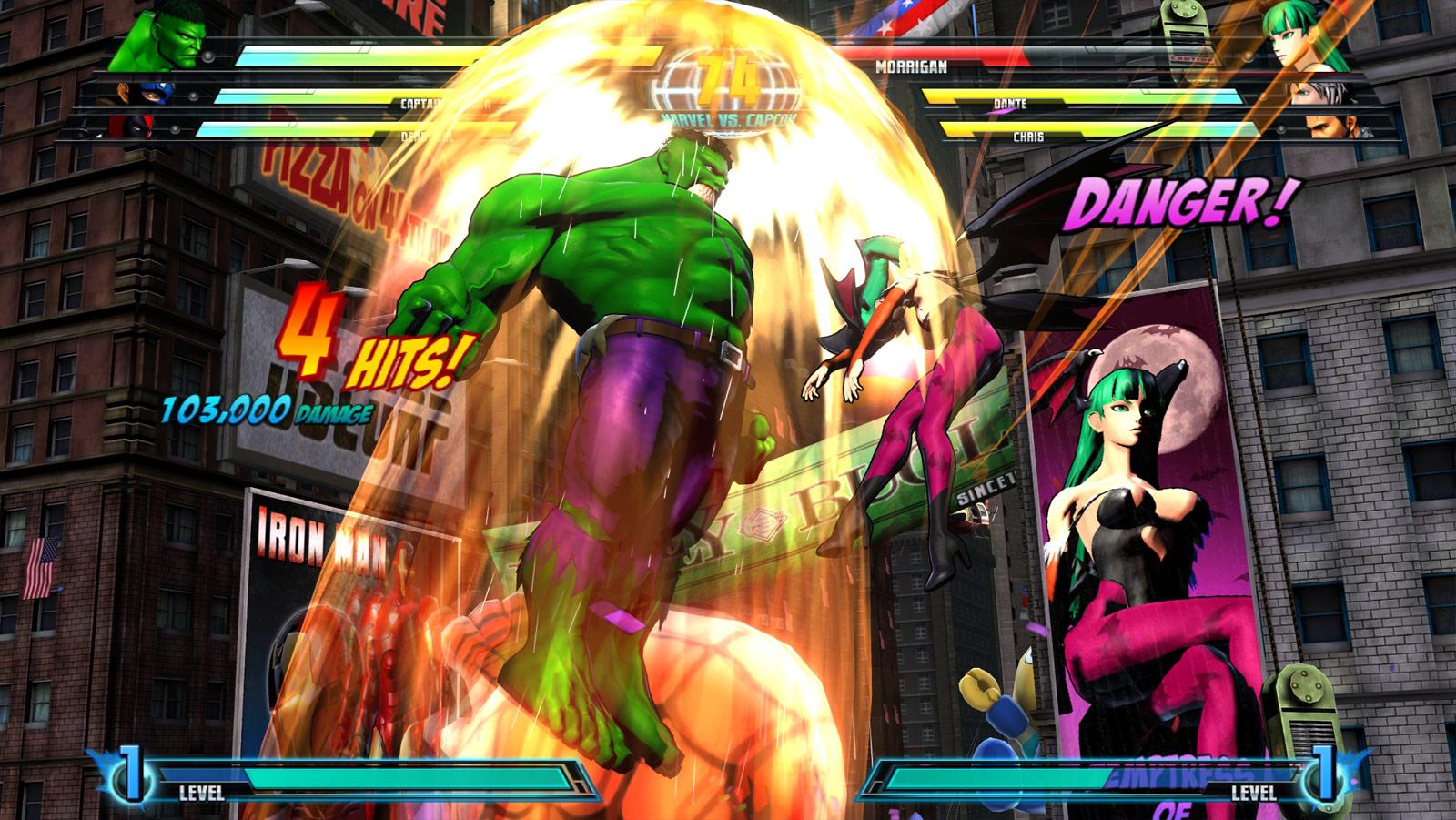 Marvel vs. Capcom 3 screen shot from E3 image #8