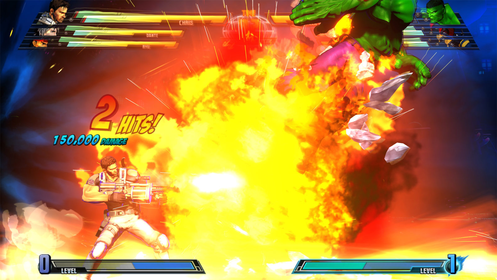 Marvel vs. Capcom 3 screen shot from E3 image #11