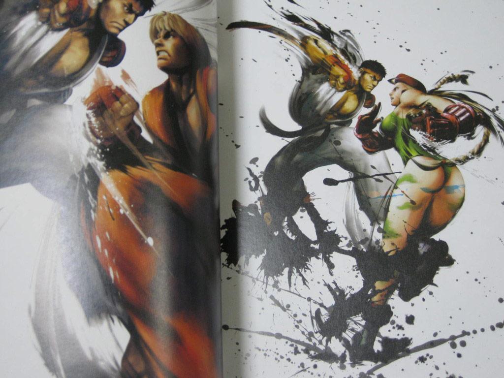 Complete works of Street Fighter 4 artbook image #4