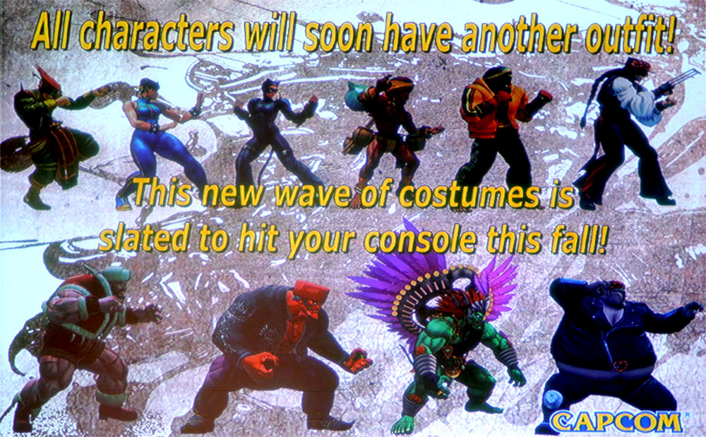 New alternative costumes for Super Street Fighter 4 image #1