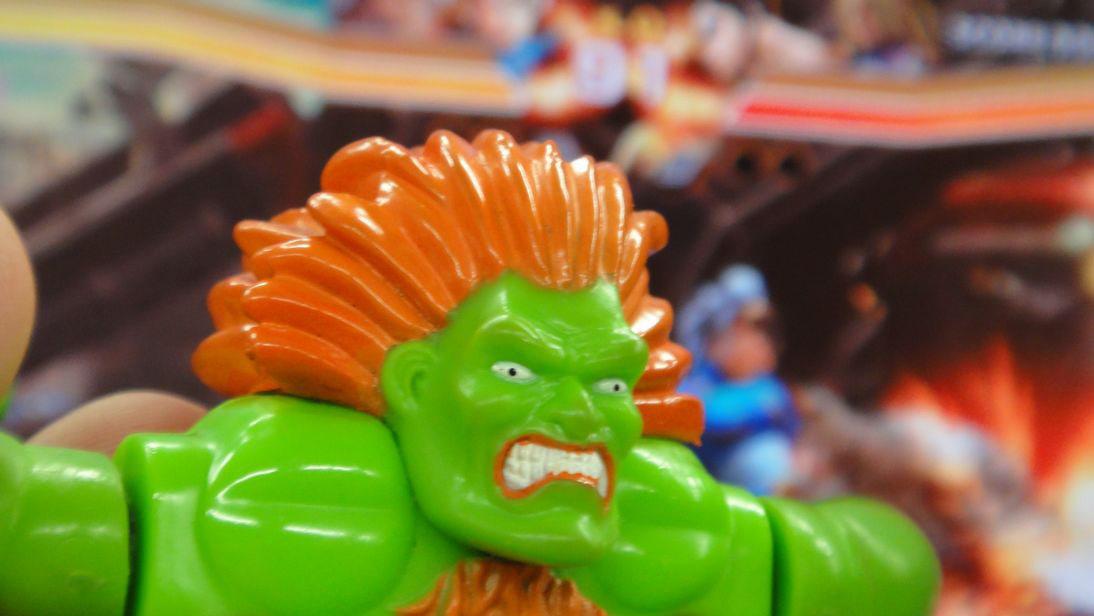 Blurry shot of Street Fighter X Tekken