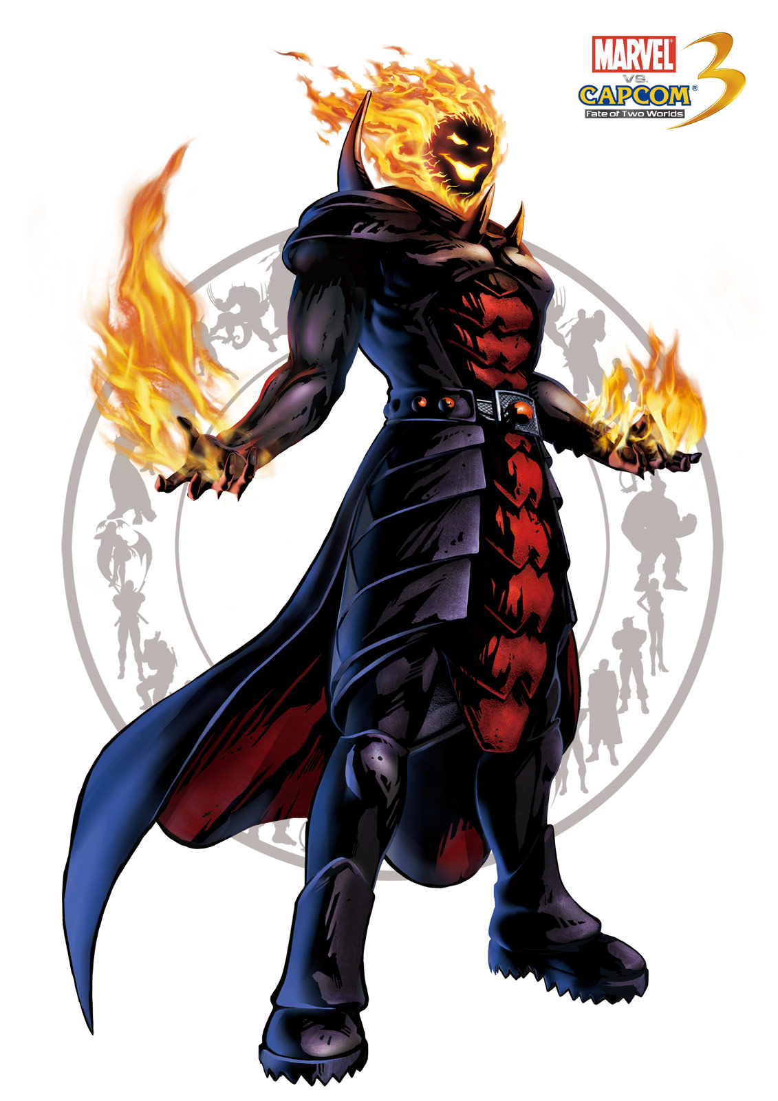 Dormammu artwork for Marvel vs. Capcom 3