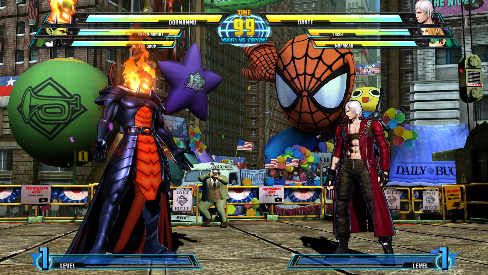 Marvel vs. Capcom 3 screen shot Aug. 18 image #4