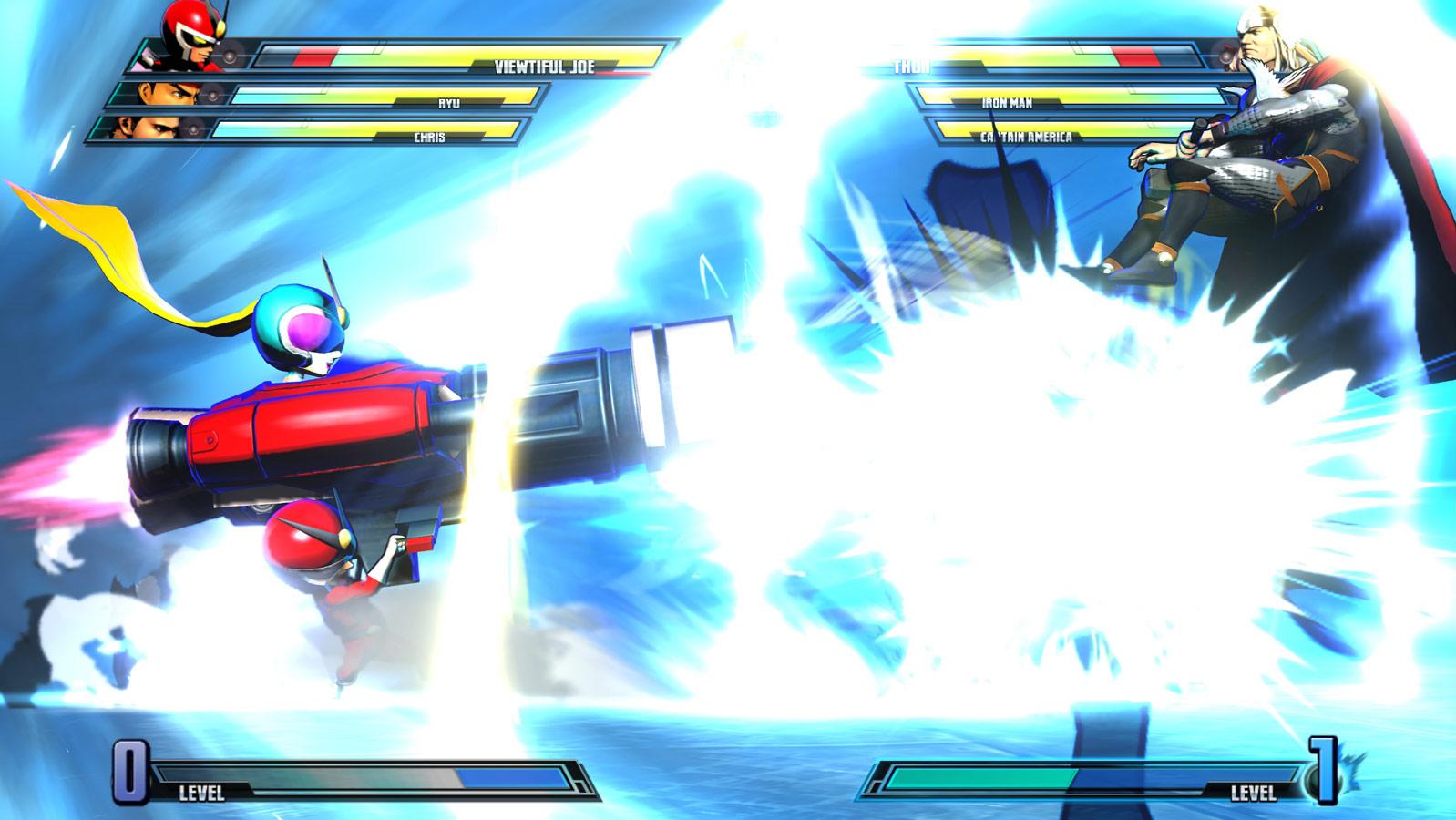 Marvel vs. Capcom 3 screen shot Aug. 18 image #6