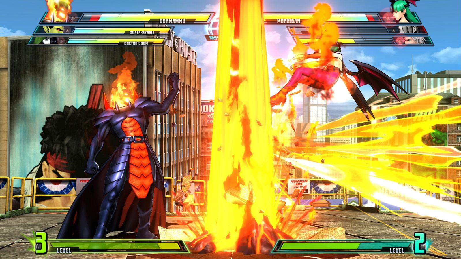 Marvel vs. Capcom 3 screen shot Aug. 18 image #7