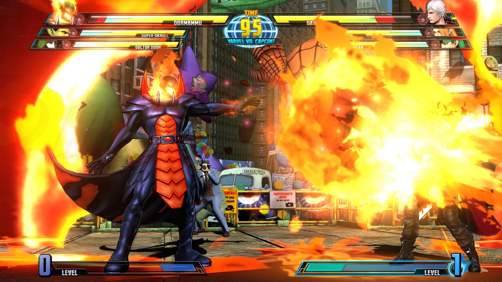 Marvel vs. Capcom 3 screen shot Aug. 18 image #8