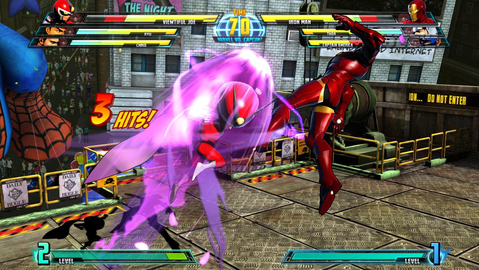 Marvel vs. Capcom 3 screen shot Aug. 18 image #9