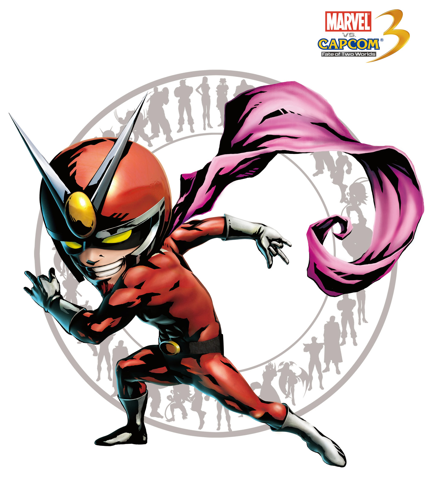 Viewtiful Joe artwork for Marvel vs. Capcom 3