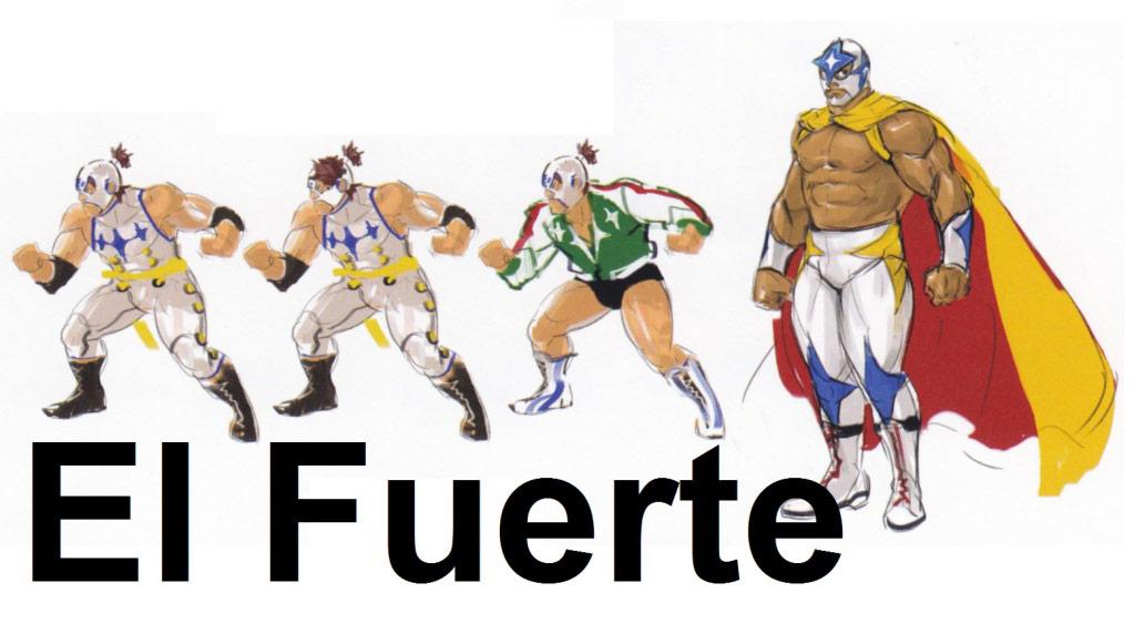 Street Fighter 4 alternative costume concept sketch #12