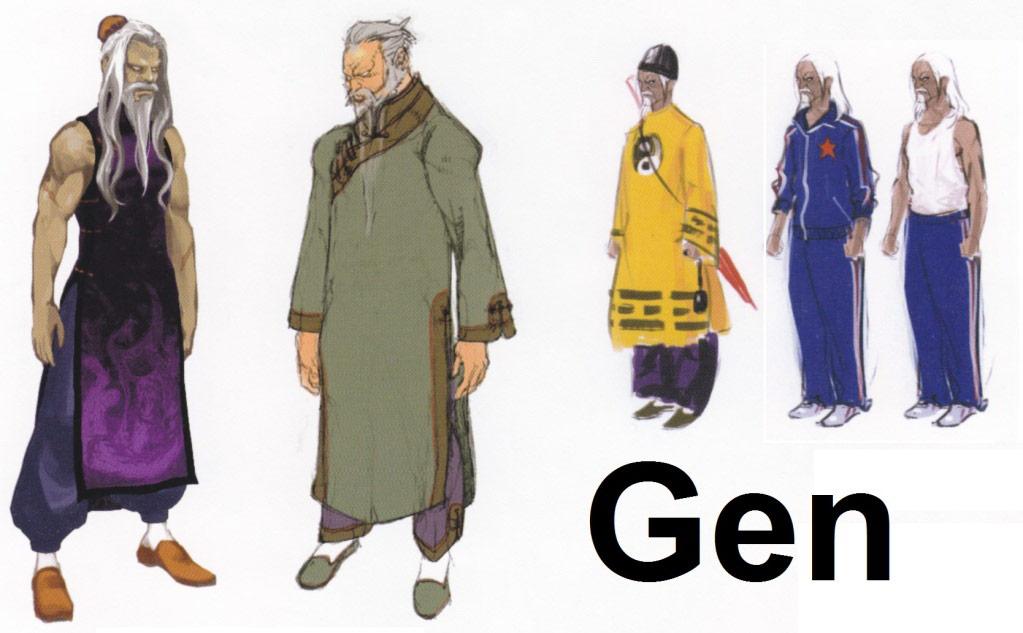 Street Fighter 4 alternative costume concept sketch #13