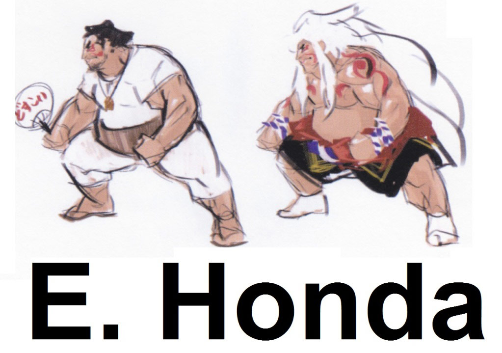 Street Fighter 4 alternative costume concept sketch #20