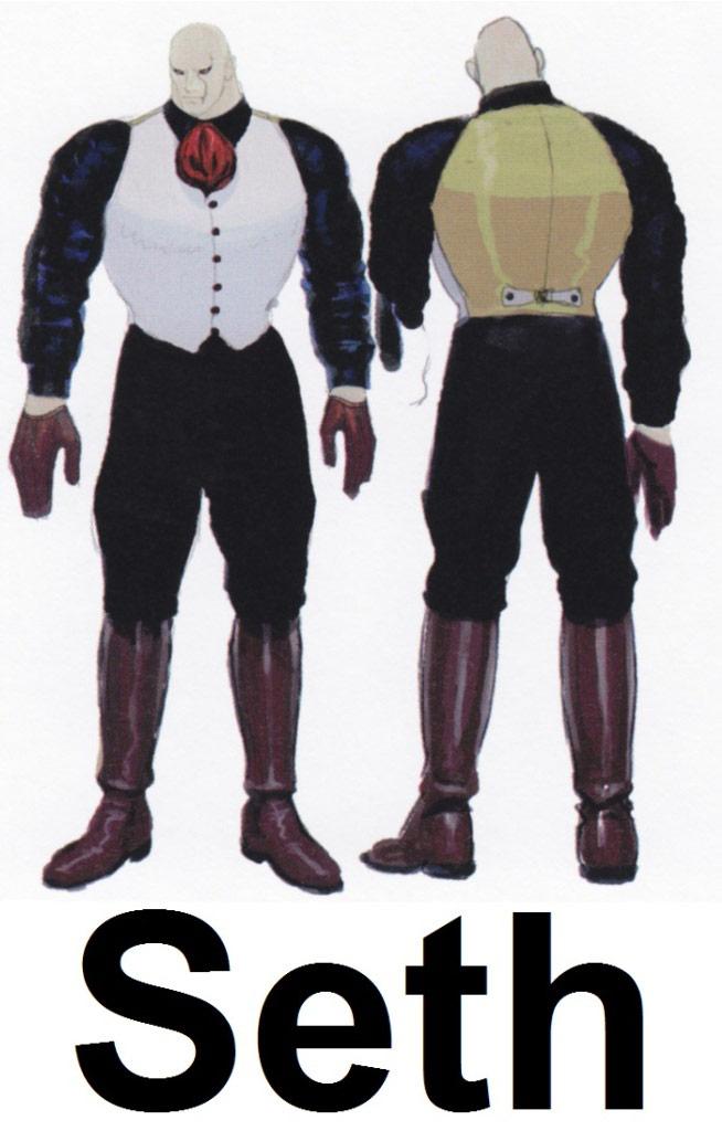 Street Fighter 4 alternative costume concept sketch #29