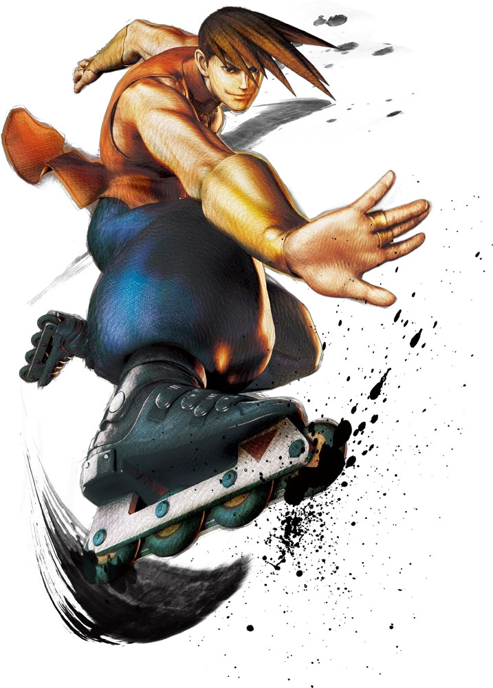 Artwork of Yun and Yang in Super Street Fighter 4 image #2