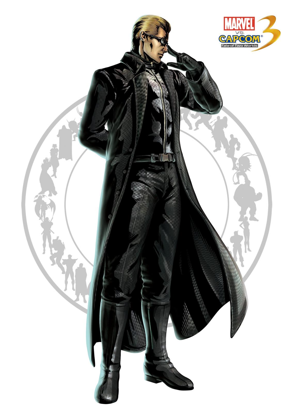 Wesker artwork for Marvel vs. Capcom 3