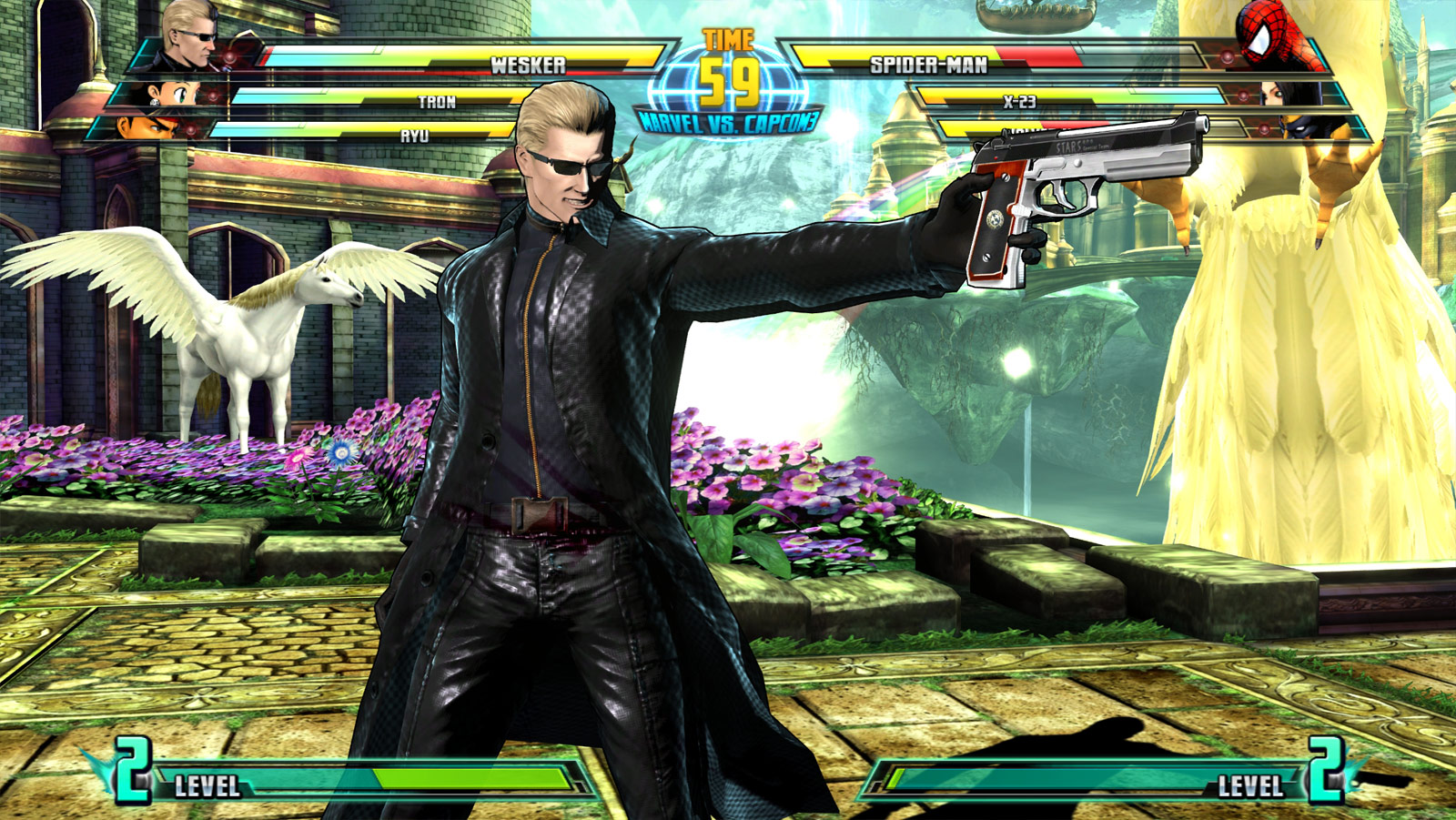 Marvel vs. Capcom 3 screen shot Sept. 21 image #2