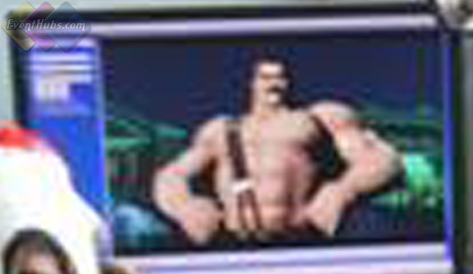 3D model of Haggar, zoomed in shot #2