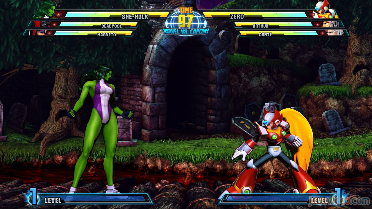 Marvel vs. Capcom Zero and She-Hulk image #1