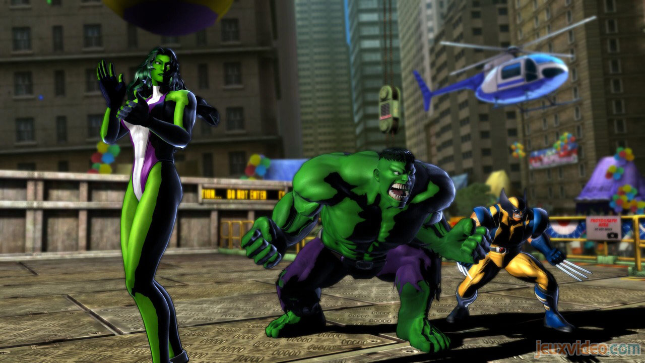 Marvel vs. Capcom Zero and She-Hulk image #3