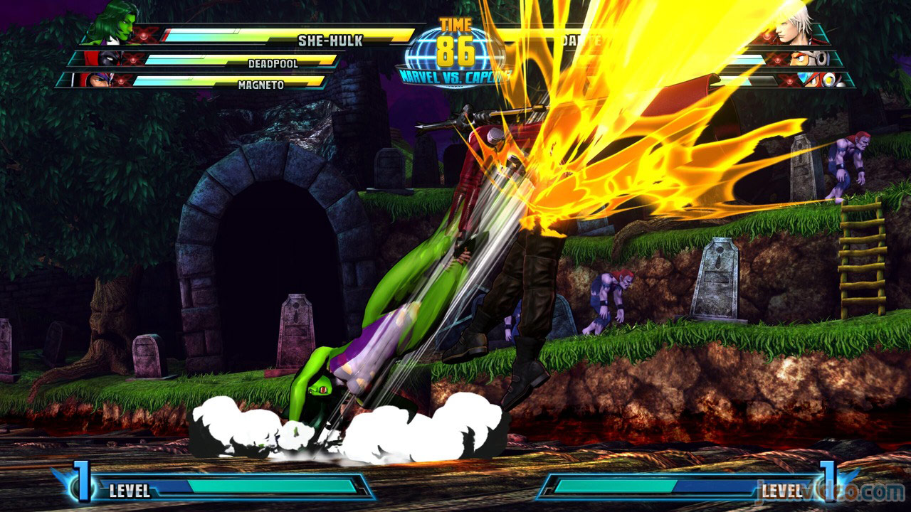 Marvel vs. Capcom Zero and She-Hulk image #4
