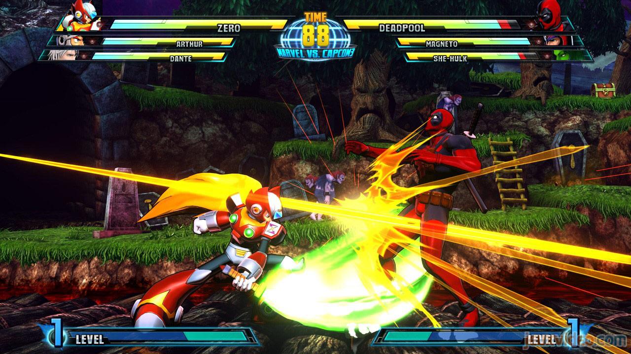 Marvel vs. Capcom Zero and She-Hulk image #5