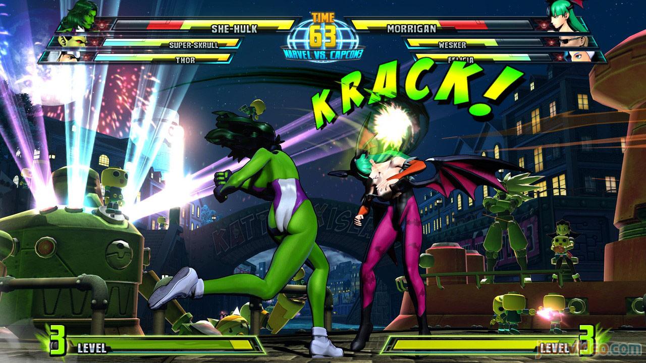Marvel vs. Capcom Zero and She-Hulk image #7