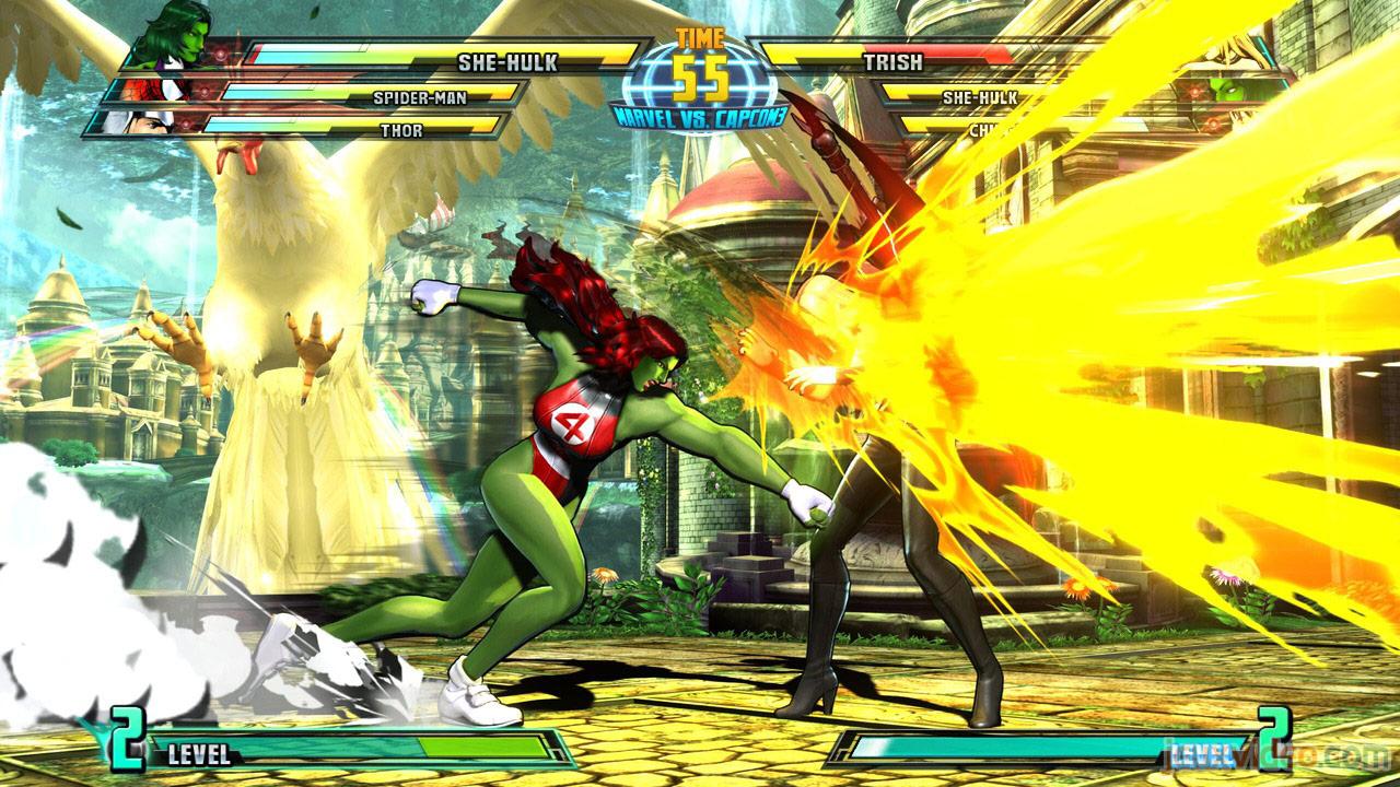 Marvel vs. Capcom Zero and She-Hulk image #10