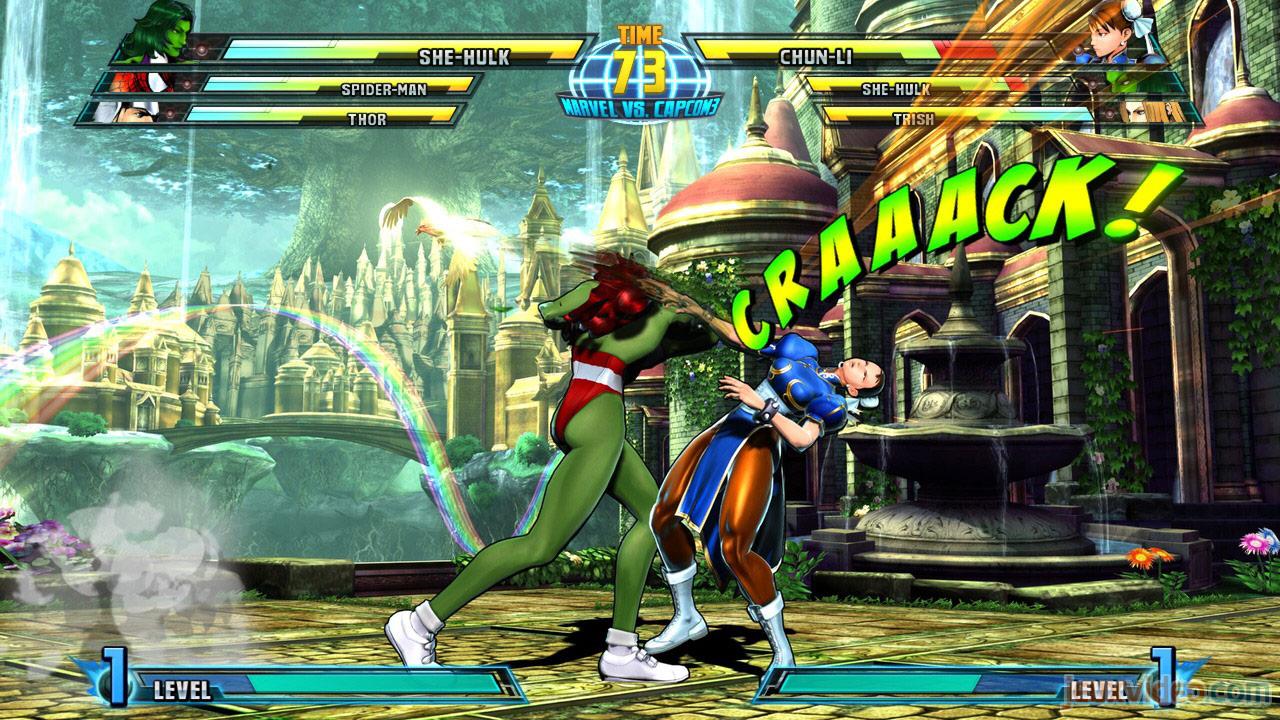 Marvel vs. Capcom Zero and She-Hulk image #12