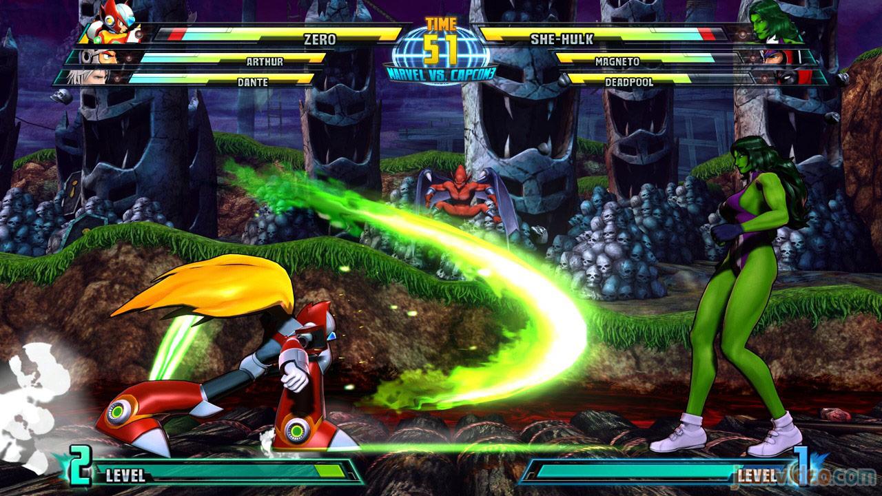 Marvel vs. Capcom Zero and She-Hulk image #14