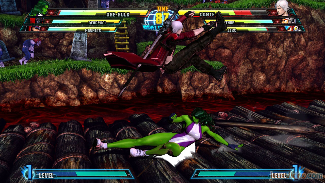 Marvel vs. Capcom Zero and She-Hulk image #18