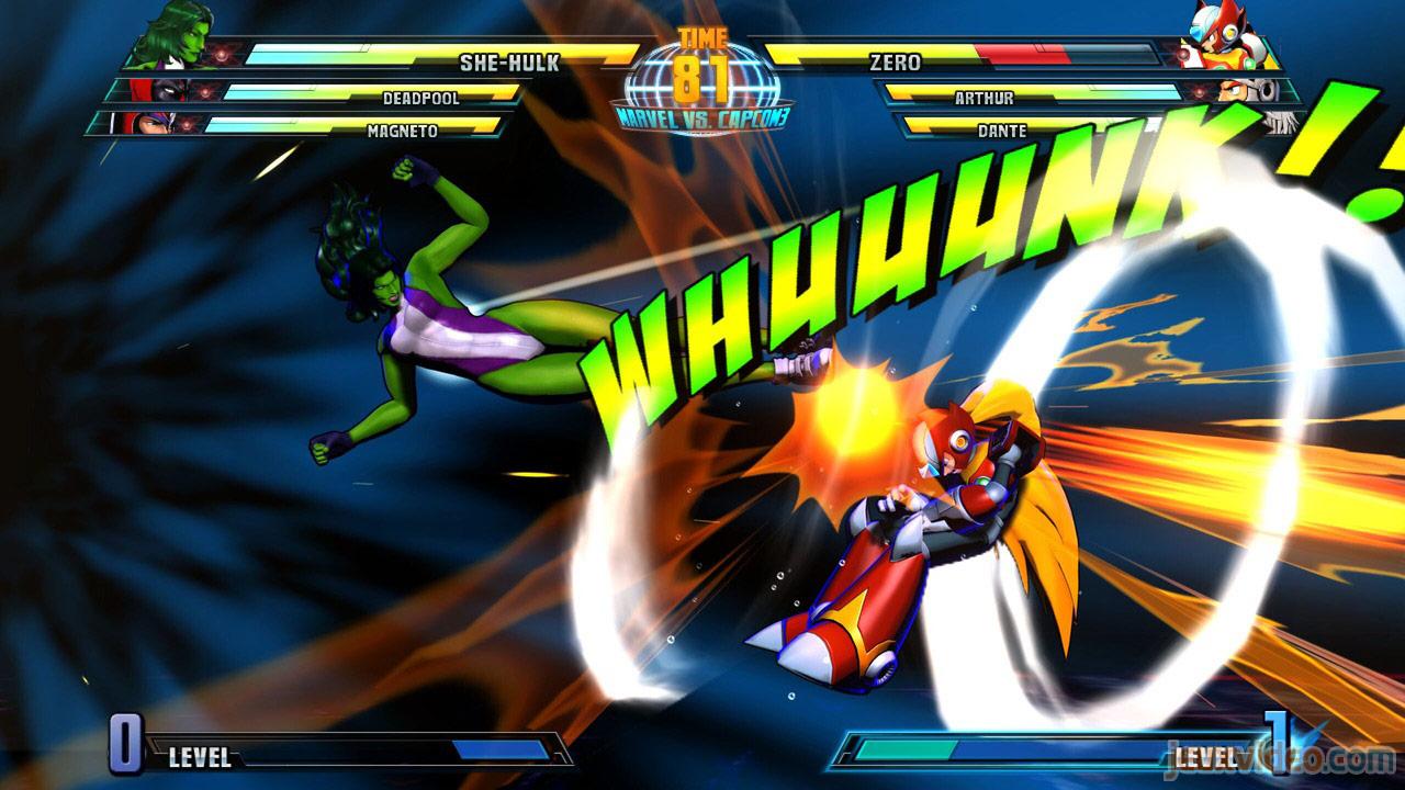 Marvel vs. Capcom Zero and She-Hulk image #19