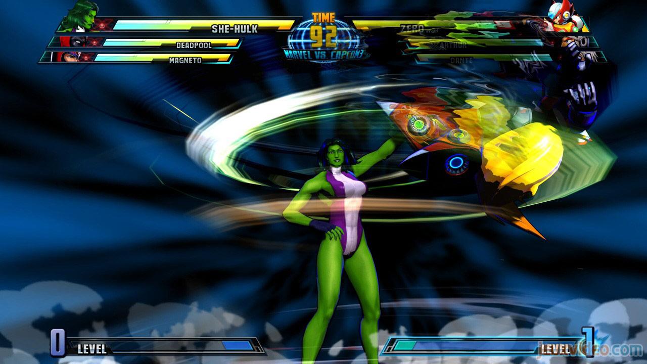 Marvel vs. Capcom Zero and She-Hulk image #20