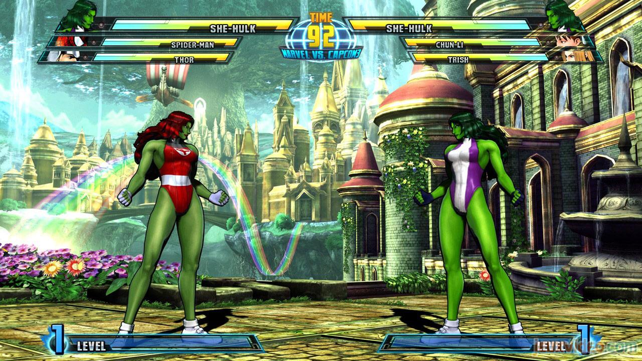 Marvel vs. Capcom Zero and She-Hulk image #22