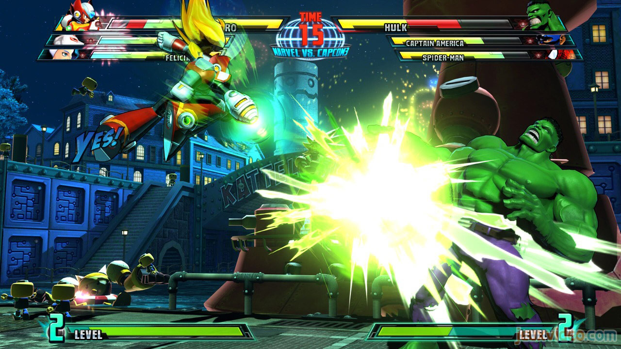 Marvel vs. Capcom Zero and She-Hulk image #23