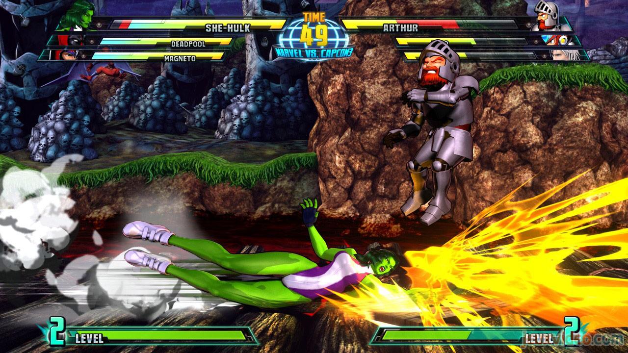 Marvel vs. Capcom Zero and She-Hulk image #24