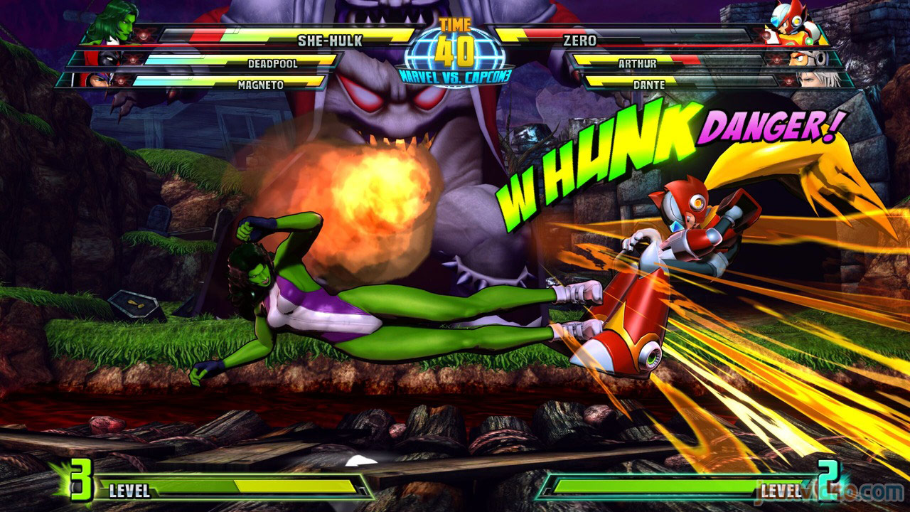 Marvel vs. Capcom Zero and She-Hulk image #25