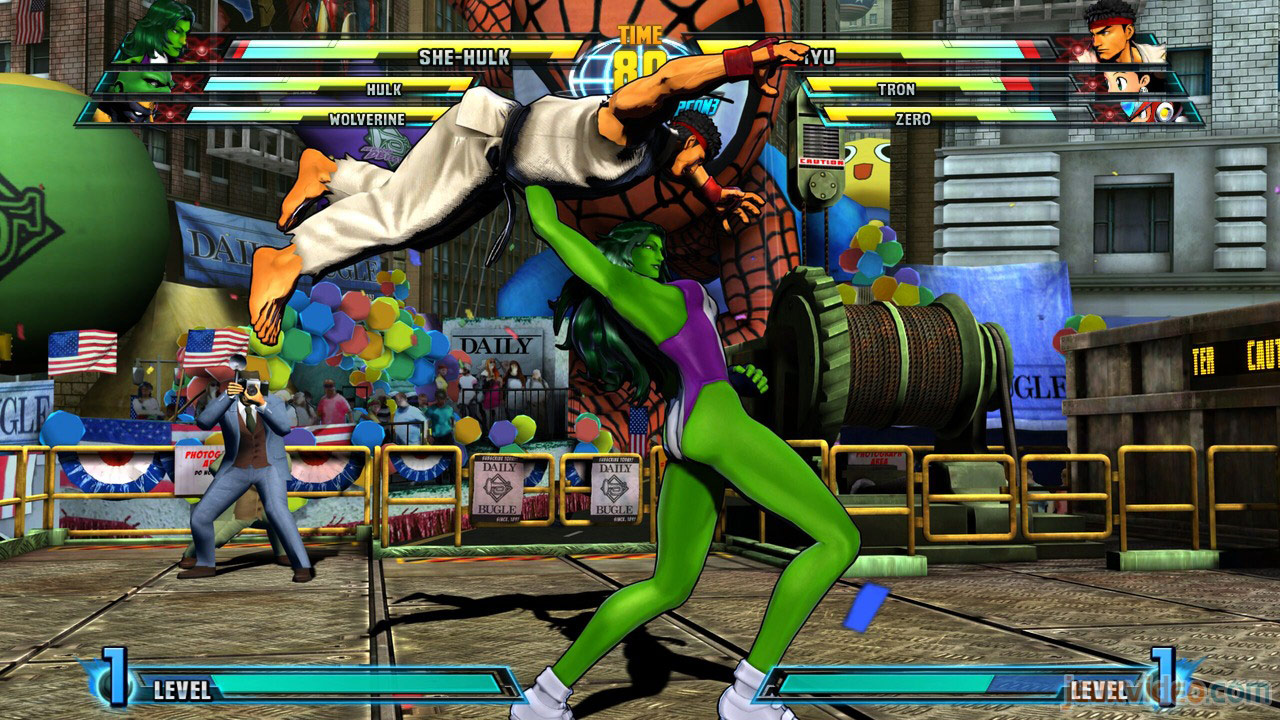 Marvel vs. Capcom Zero and She-Hulk image #29