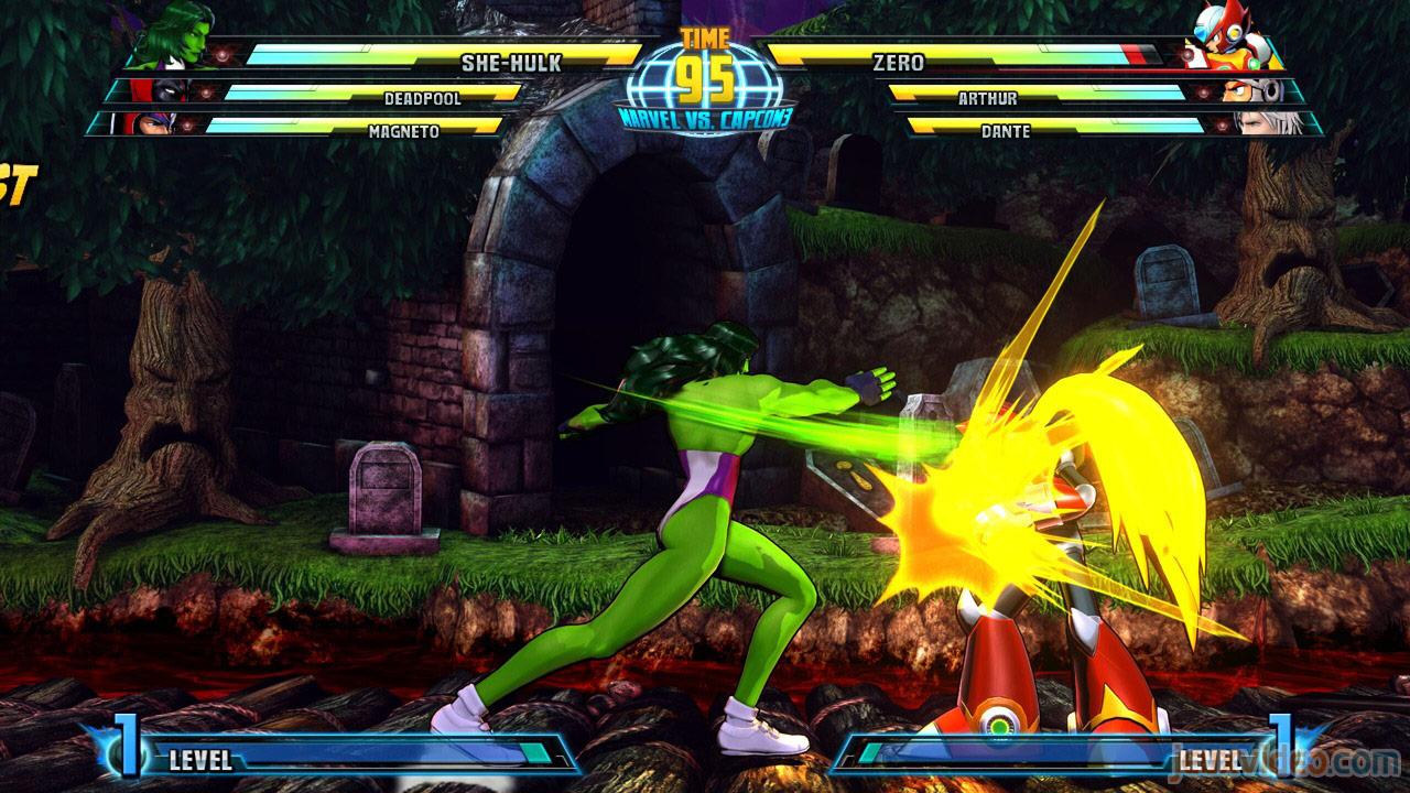 Marvel vs. Capcom Zero and She-Hulk image #30