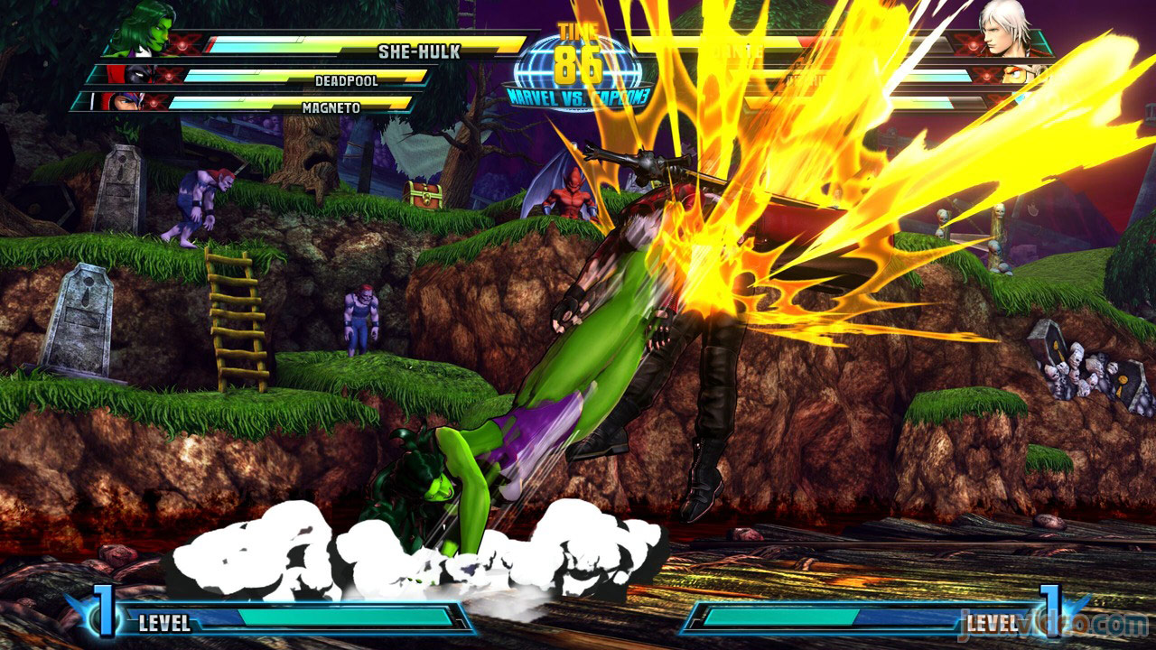 Marvel vs. Capcom Zero and She-Hulk image #31