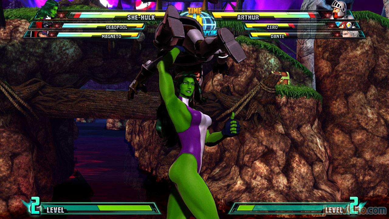 Marvel vs. Capcom Zero and She-Hulk image #32