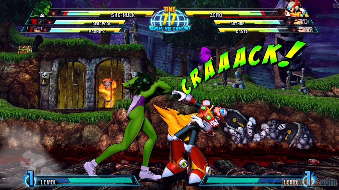 Marvel vs. Capcom Zero and She-Hulk image #34