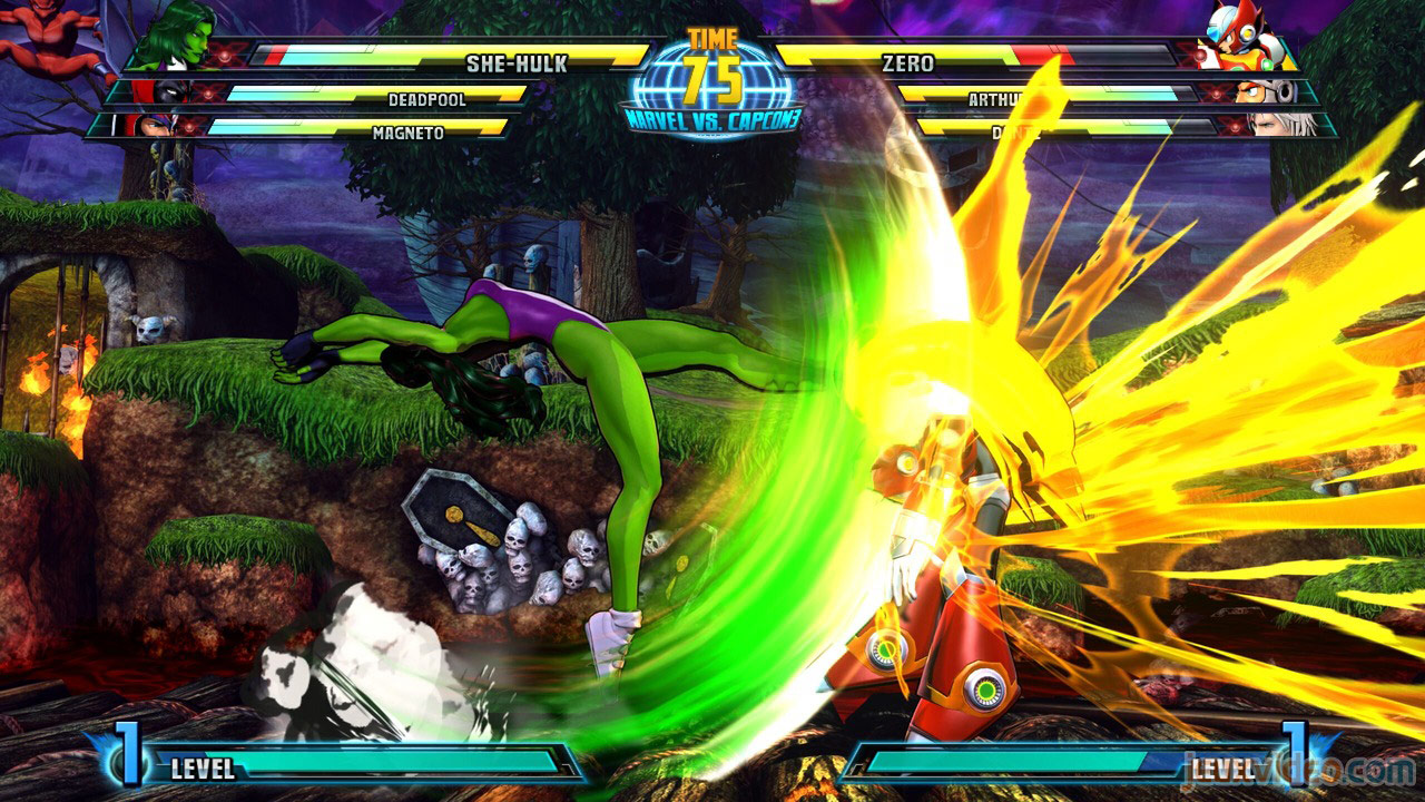Marvel vs. Capcom Zero and She-Hulk image #35