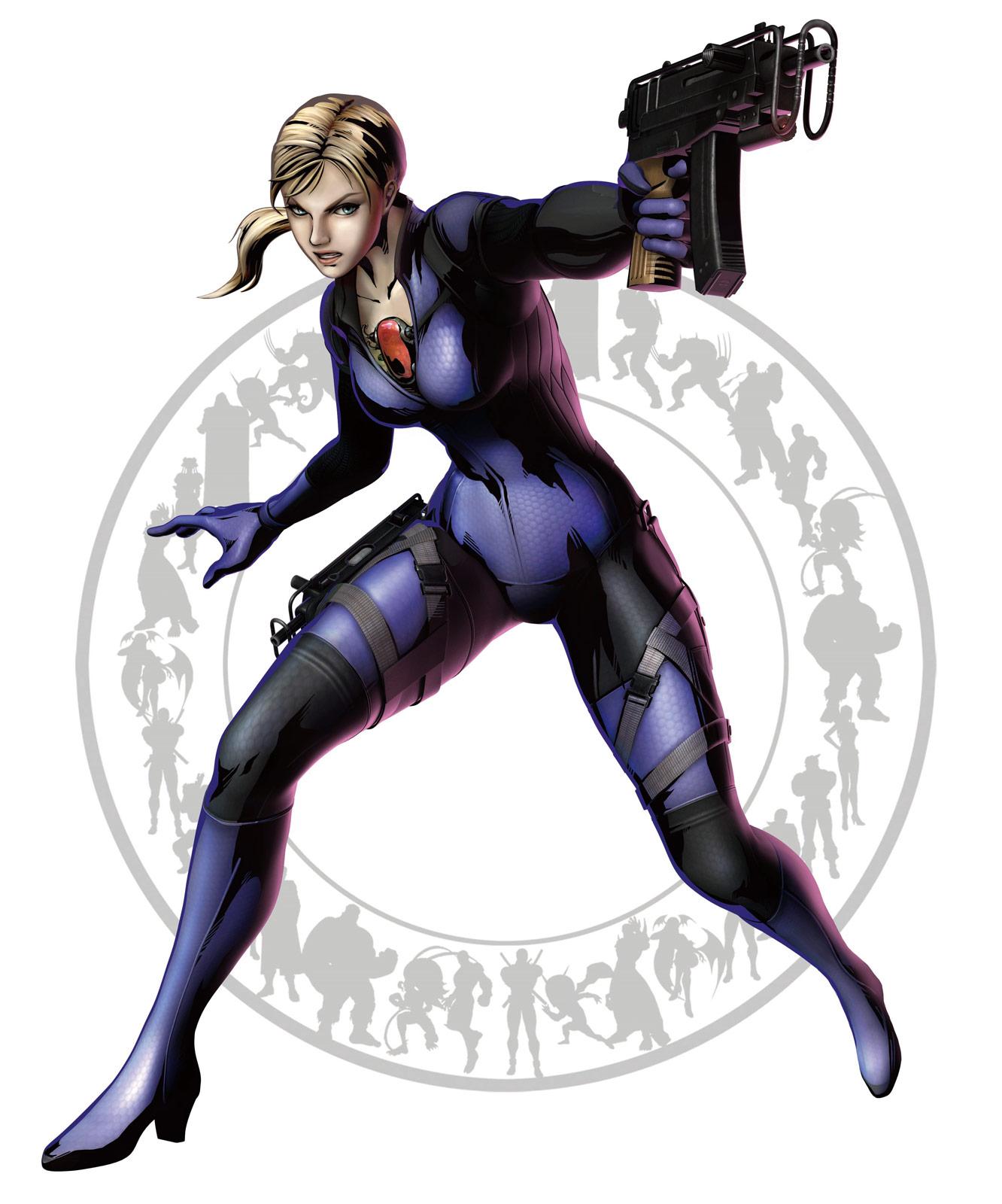 Jill Valentine Marvel vs. Capcom 3 artwork