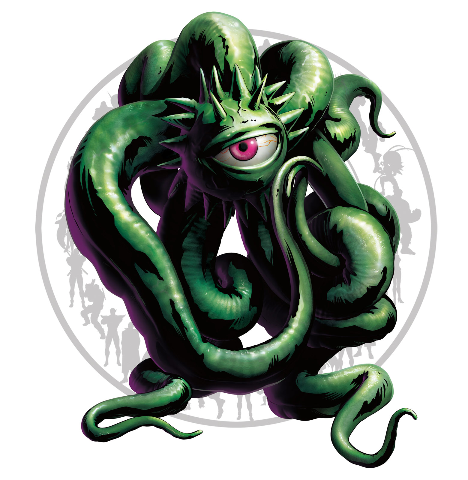 Shuma Gorath Marvel vs. Capcom 3 artwork