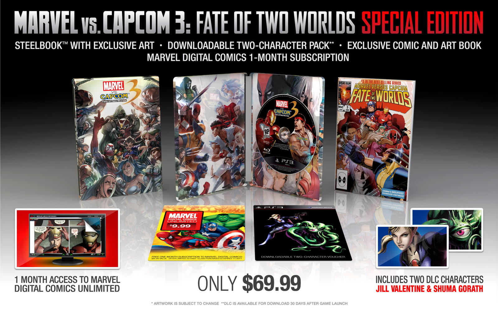 Collector's Edition image for Marvel vs. Capcom 3
